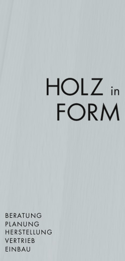 Holz in Form - Balazs Klimo